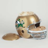 Notre Dame Fighting Irish Snack Helmet Vase Planter
