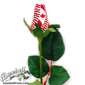 O Canada Baseball Rose Patriotic Floral Arrangements