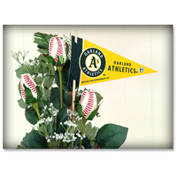 Baseball Gifts|Oakland Athletics Flower Arrangements and Gifts