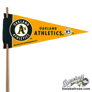 Oakland Athletics Mini Felt Pennants