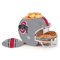 Ohio State Buckeyes Snack Helmet Vase Planter