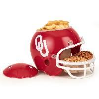 Oklahoma Sooners Snack Helmet Vase Planter