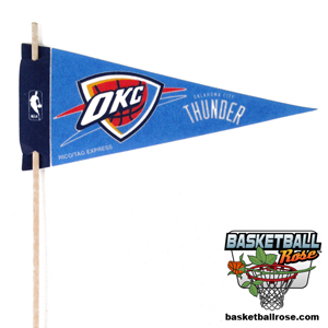 Oklahoma City Thunder Mini Felt Pennant