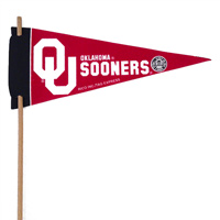 Oklahoma Sooners Mini Felt Pennants