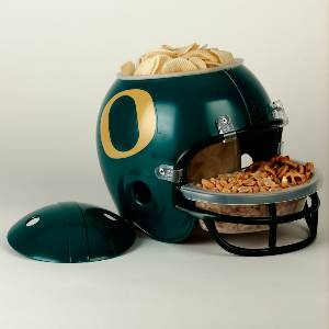 Oregon Ducks Snack Helmet Vase Planter