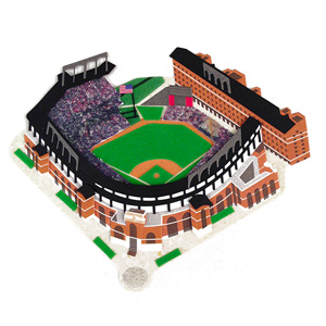 Baltimore Orioles Camden Yards 3D Ballpark Scrapbook Sticker