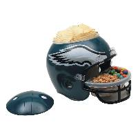 Philadelphia Eagles Snack Helmet Vase Planter