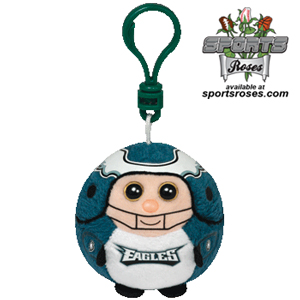 Philadelphia Eagles Beanie Ballz Clip