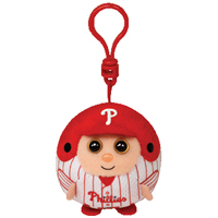 Philadelphia Phillies Beanie Ballz Clip