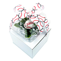 Baseball Rose Boutonniere Gift Arrangement