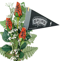 San Antonio Spurs Flower Arrangements and Gifts