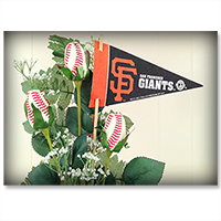 San Francisco Giants Flower Arrangements and Gifts