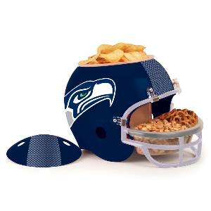Seattle Seahawks Snack Helmet Vase Planter