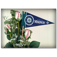 Baseball Gifts|Seattle Mariners Flower Arrangements and Gifts