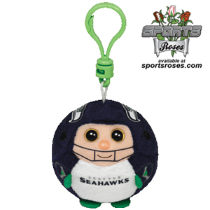 Seattle Seahawks Beanie Ballz Clip