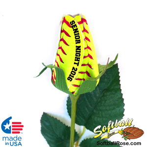 Senior Night 2015 Softball Rose Gift