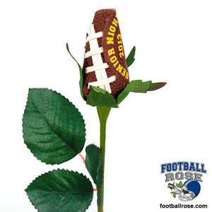 Football Rose - Senior Night 2016 Gifts and Awards