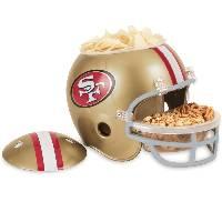 San Francisco 49ers Snack Helmet Vase Planter