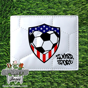 USA SoccerThemed Men's Wallet