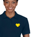 Softball Heart Polo Shirt - Women's Mini-Thumbnail