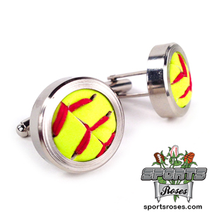 Softball Themed Cufflinks