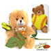 Softball Rose & Sports Bear Gift Set Mini-Thumbnail
