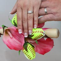 Softball Weddings