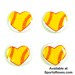 Softball Hearts Pin Pack Mini-Thumbnail