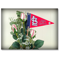 Baseball Gifts|St. Louis Cardinals Flower Arrangements and Gifts
