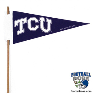 TCU Horned Frogs Mini Felt Pennants