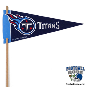 Tennessee Titans Mini Felt Pennants