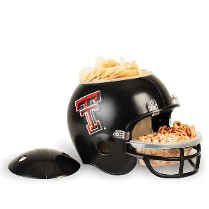 Texas Tech Red Raiders Snack Helmet Vase Planter