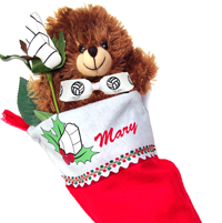 Volleyball Rose Stocking Stuffer Gift Set