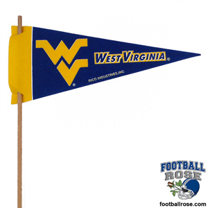 West Virginia Mountaineers Mini Felt Pennants