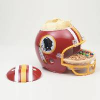 Washington Redskins Snack Helmet Vase Planter