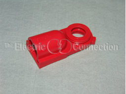 1014 Side Post Battery Bolt Cover for GM Battery / Red MAIN