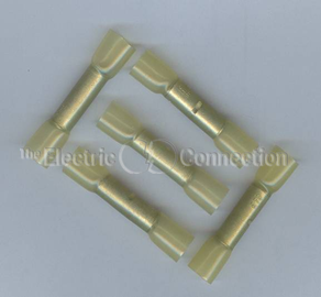 3304 Non-Insulated Butt Connector w/Heat Shrink Tubing / 10-12 Ga. / 10/pkg. MAIN