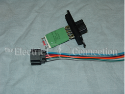 Combo on 2007 Jeep Grand Cherokee Blower Motor Resistor