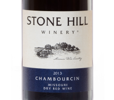 2013 Stone Hill Winery Chambourcin
