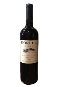 2005 Stone Hill Winery Old Vine Reserve Norton