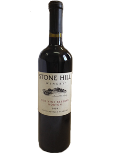 2003 Stone Hill Winery Old Vine Reserve Norton