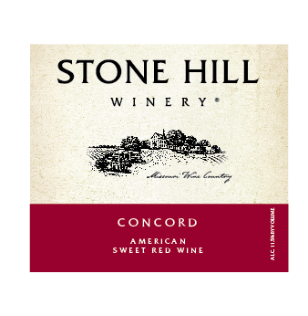 Stone Hill Winery Concord Case of 12