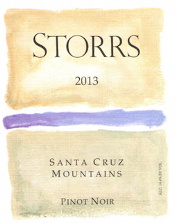 2013 Santa Cruz Mountains Pinot Noir