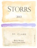 2013 St. Clare Red Wine - a Bordeaux-Red