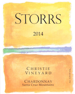 2014 Christie Vineyard Chardonnay Santa Cruz Mountains