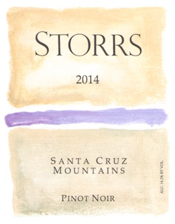2014 Santa Cruz Mountains Pinot Noir