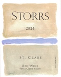 2014 St. Clare Red Wine - a Bordeaux-Red