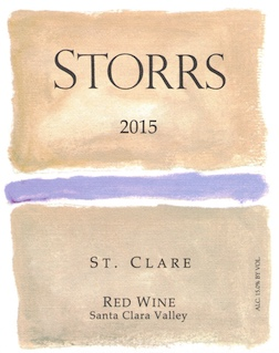 2015 St. Clare Red Wine - a Bordeaux-Red
