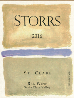 2016 St. Clare Red Wine - a Bordeaux-Red MAIN