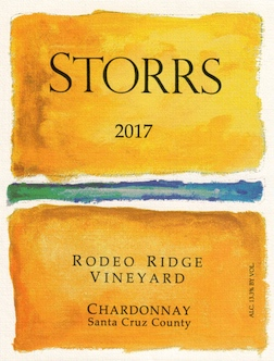 2017 Rodeo Ridge Chardonnay Santa Cruz County